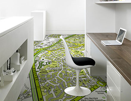 Bespoke, custom design or photograph flooring from Murafloor