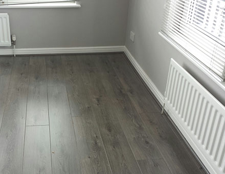 Luxury wood and laminate flooring solutions
