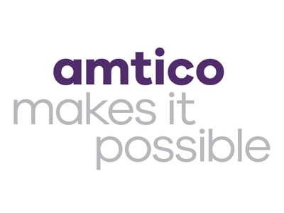 Text in purple saying Amtico makes it possible
